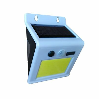 Outdoor Bright 24 COB LED Wireless Solar Powered Motion Sensor Light with Color