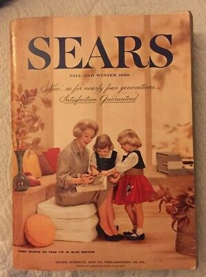 1960 Sears Catalog Fall Winter, Mid Century Living FREE SHIPPING