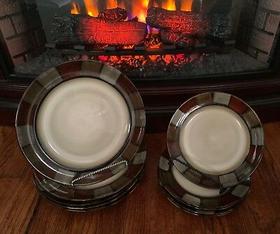 Pfaltzgraff TAOS 2pc Place Setting Salad Plate & Dinner Plate **EXCELLENT**