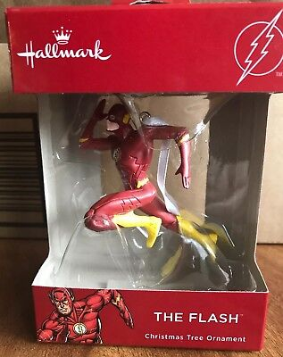 DC Comics THE FLASH Hallmark 2018 Christmas Tree Ornament