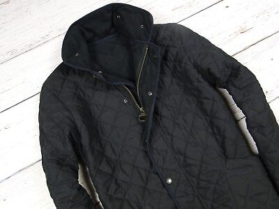 BARBOUR MICROFIBRE POLARQUILT LONG JACKET FLEECE COAT Quilted Size XL