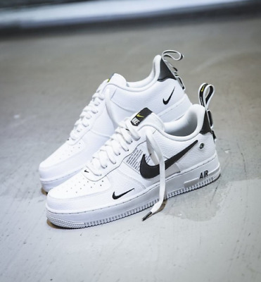 6e5f1ec88565 Nike Air Force 1 One Utility Low Uk Us 7 8 8.5 9 10 11 12 White 07 Lv8 All  Sizes 100% AUTHENTIC