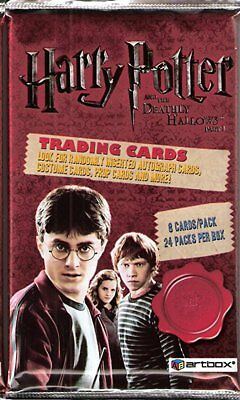 Harry Potter and the Deathly Hallows Part 1 Factory Sealed Trading Card Pack x2
