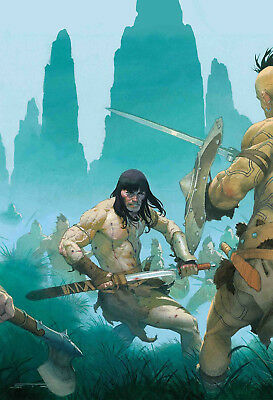 Conan The Barbarian #2 (Marvel) - 1/16/19
