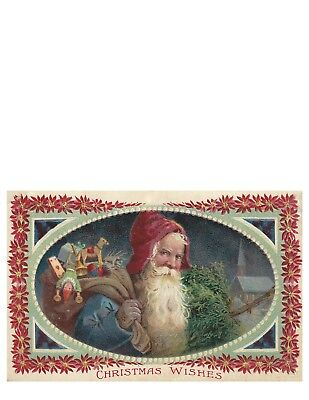 Victorian Trading Co. Christmas Eve Delivery Placemats (Set Of 24)