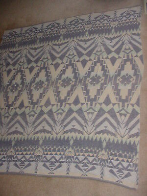 Old Vintage Western Indian Design Cotton Camp Blanket