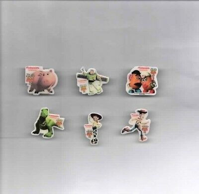 """6 McDonald´s Pins """"Toy Story 2"""""""