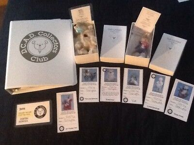 DCAD COLLECTORS CLUB by DEB CANHAM, 2 Extremely Rare 2007 Collectibles/Autograph