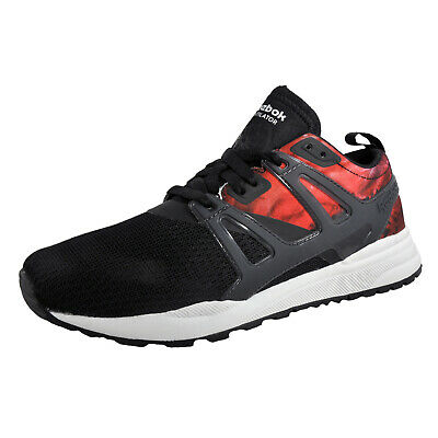 Reebok Ventilator Adapt Graphic Womens Classic Casual Retro Black Trainers
