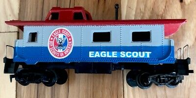 Eagle Scout Caboose Tyco Made In USA Rare Boy Scout BSA