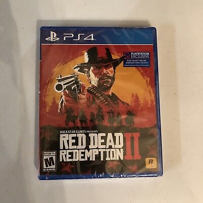Red Dead Redemption 2 BRAND NEW UNOPENED PS4
