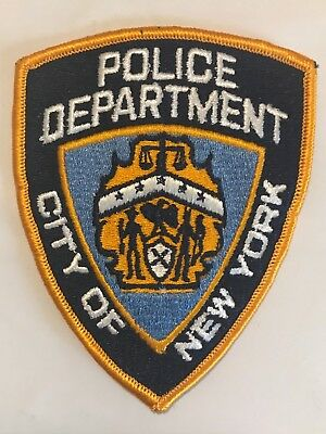 City of New York Police Department Patch, Large