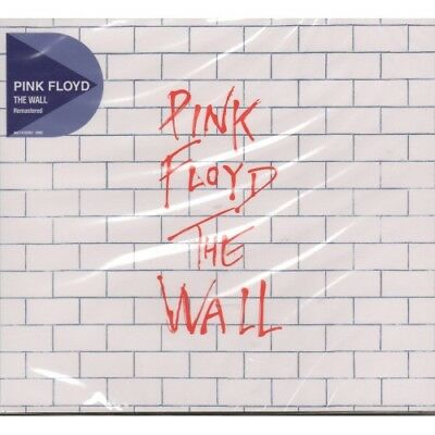 2CD  PINK FLOYD - THE WALL ( REMASTERED ) (NEW and SEALED CD) FREE USA SHIPPING