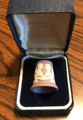Wedgwood Thimble Royal Wedding Charles and Diana