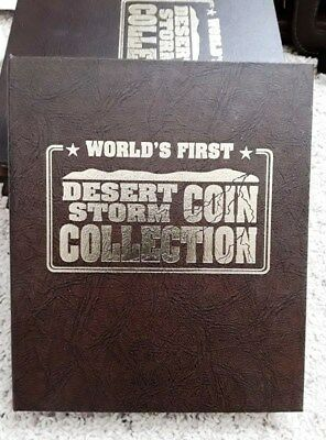 World's First-- Desert Storm Coin Collection. 45 Proof Coins, A Very Rare Set.