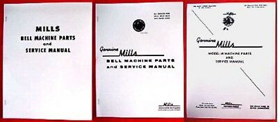 MANUAL - Slot Machine - Parts and Service Bell -- MILLS