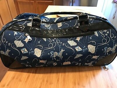 Disney Mary Poppins Fabric Rolling Duffel Bag Smoke-Free home