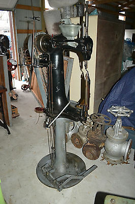 Antique Vtg Sewing Leather Saddle Harness  Puritan sewing Machine