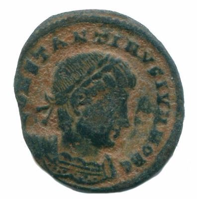 Constantine II Antioch mint ( SMAN ) GLORIA EXERCITVS Two Soldiers ANC13190.18