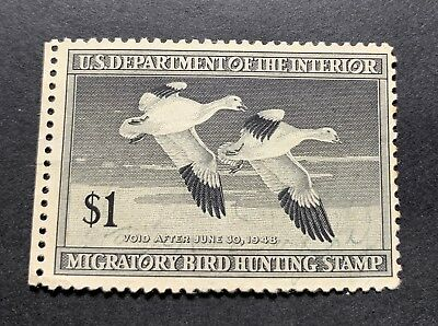 WTDstamps - #RW14 1947 - US Federal Duck Stamp - NG