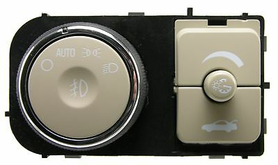 Fog Light Switch-Instrument Panel Dimmer Switch Wells fits 08-09 Buick Lucerne