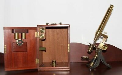 Antique Murray & Heath Microscope