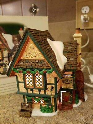 Dept 56- Dickens Village- The Spider Box Locks- #58448