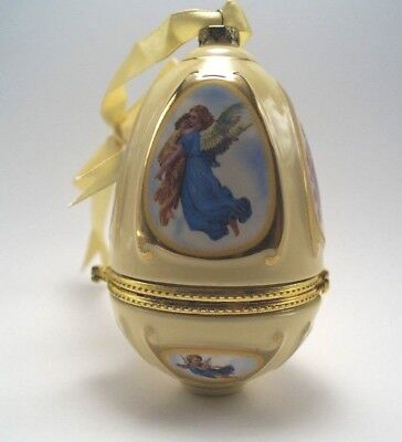 Mr. Christmas Angel Musical Egg Ornament with Box