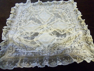 Beautiful Antique French Normandy Pillow Cover
