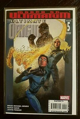 ULTIMATE ORIGINS #5 VARIANT MARVEL Combined Shipping NM 9.6 or Better