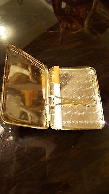 Art Deco Gold Filled Cigarette Case