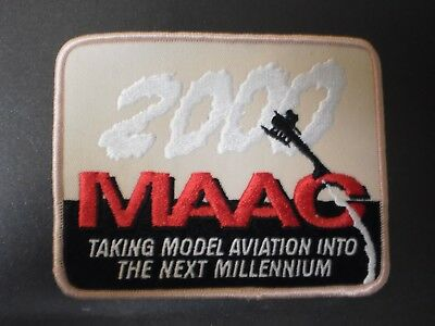 "M.A.A.C. 2000 ""Taking Model Aviation into the Next Millennium"" Patch"