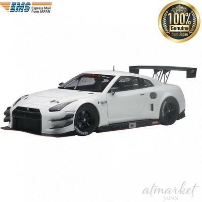 AUTOart 81576 Mini Car 1/18 Nissan GT-R NISMO GT3 White finished product JAPAN