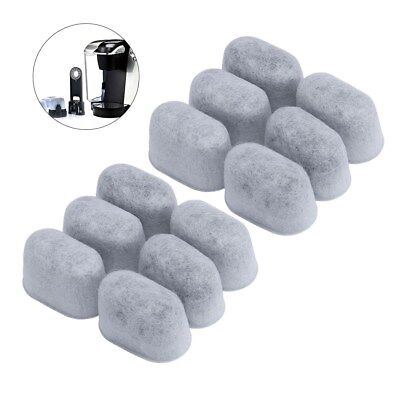 24pcs Activated Charcoal Water Filters Replacement for Cuisinart Coffee Machine