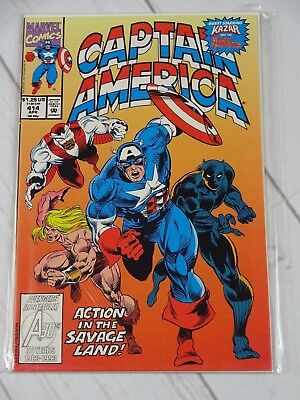 Captain America #414 (Apr 1993, Marvel) Bagged and Boarded - C1913