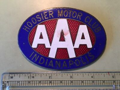 Indianapolis Hoosier Motor Club Car Badge