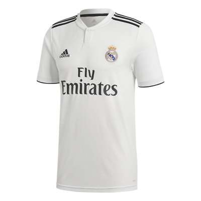 ADIDAS REAL MADRID Domicile Hommes Jersey Manche Courte 2018 2019 ... 525704cc09e81