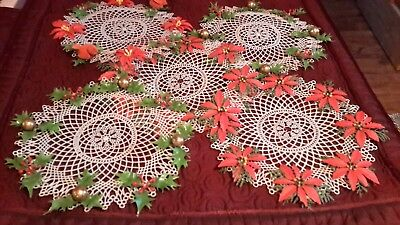 Large Lot of Vintage Christmas Ornaments and Decorations, SHINY BRITE Candy Cane