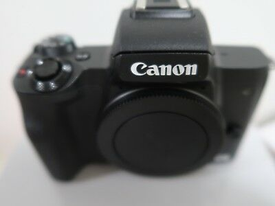 Canon EOS M50 Mirrorless Camera Mint with box and original accessories.