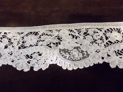 Gorgeous Antique Handmade Mixed Lace