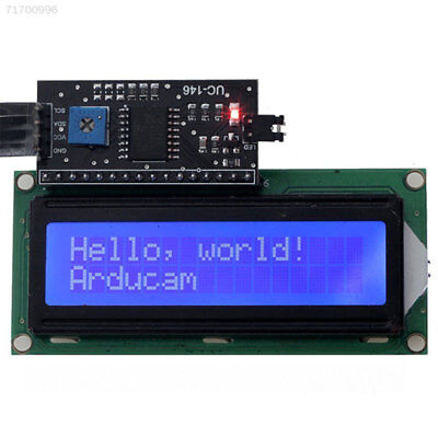 C8ED 3D6E IIC I2C TWI 1602 16 Pins Backlight LCD Dispay Module Board For Arduino