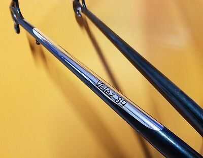 1 CUSTOM Vintage retro Chrome Vinyl Chainstay Protector mirror finish for frame