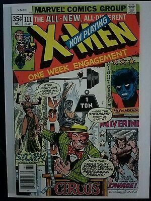 The X-Men #111 (Jun 1978, Marvel) VF 8.0 Combined Shipping