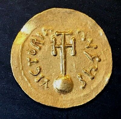 Ancient Byzantine Gold Coin Semissis!!! Heraclius. 610 -641 Ad!!! Nice !!!