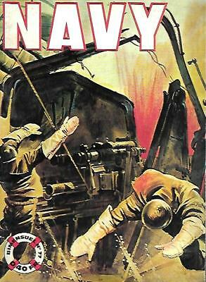 petit format NAVY n° 77--UN HEROS SANS MEDAILLE--Editions IMPERIA 06/1966