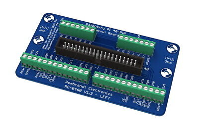 Raspberry Pi 2 and Pi 3(+) Breakout Board with Terminal Connectors