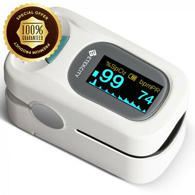 Etekcity Finger Pulse Oximeter with OLED Display, Includes Carrycase,...
