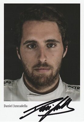 Daniel Juncadella  (DTM Mercedes)  original sign. AK