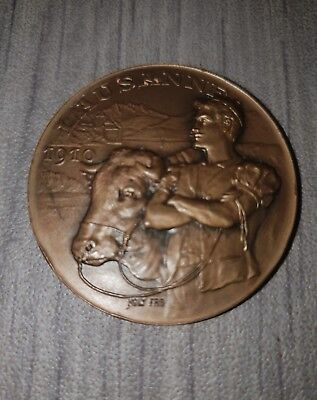 Medaille Agricole Bronze Joly Frères