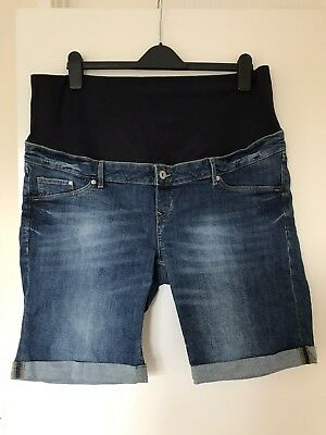 Over bump maternity jeans shorts size XL / 18